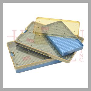 Micro Sterilization Tray w silicone finger mat 030-105
