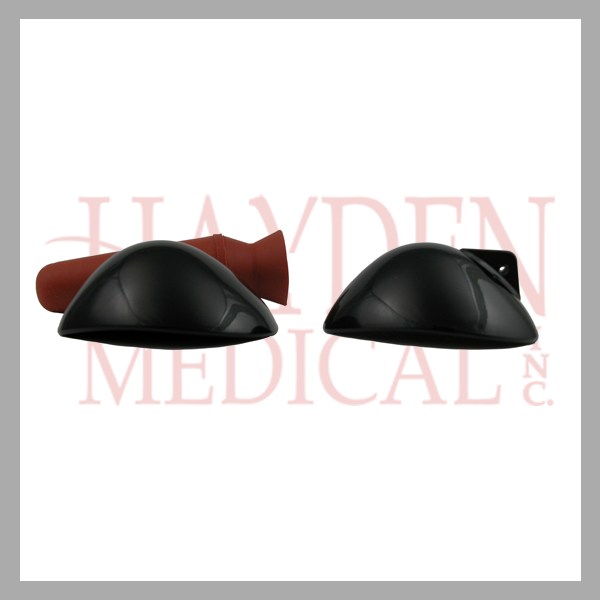 Plastic Eye Shields (Black) OP23-202B