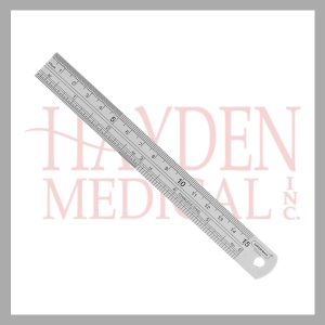 Stainless Steel Metal Ruler 030-006