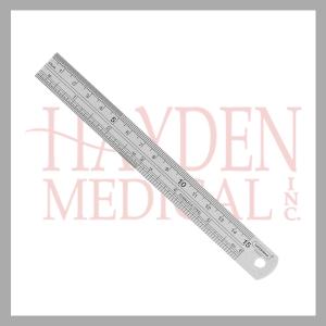 Stainless Steel Metal Ruler 030-006