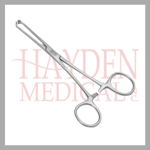 140-808 Allis Tissue Forceps 5x6 teeth