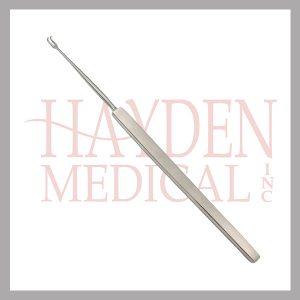 210-102-Freer-Skin-Hook-6-15.2cm-sharp-double-prongs-2.5mm-wide