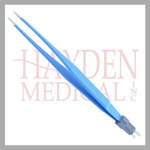218-082-Semken-Bipolar-Forceps-6-14-15cm-1mm-tips-Insulated-Stainless-Steel-Tip