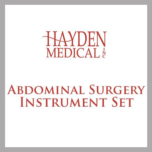Abdominal Surgery set