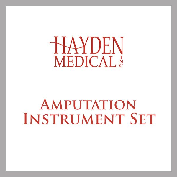 Amputation Instrument Set