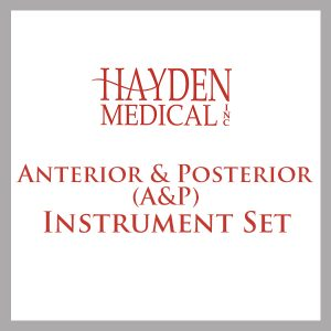 Anterior & Posterior (A&P) Surgery Instrument Set
