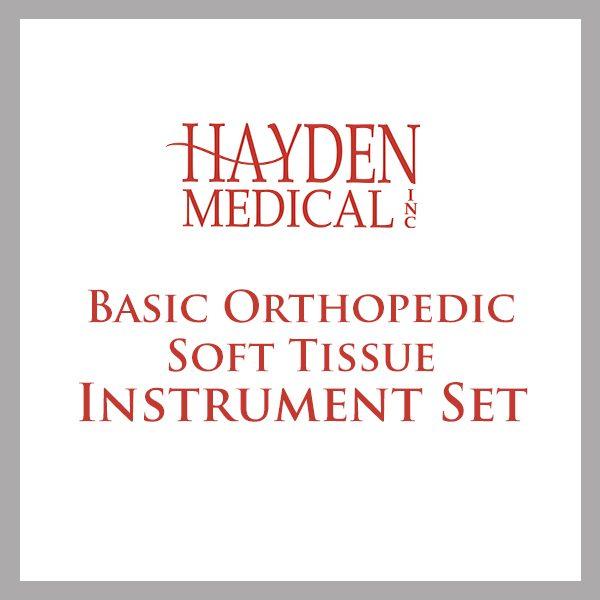 Basic Orthopedic Soft Tissue Instrument Set