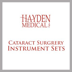 Cataract Surgrery Instrument Set