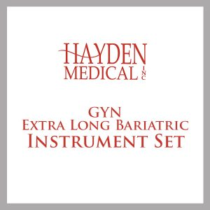 GYN Extra Long Bariatric Instrument Set