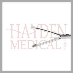 HE13-1339 Laparoscopic T-shape Grasper 10mm, D/A 43mm long jaws