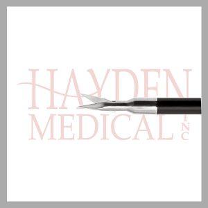 HE13-1344 Laparoscopic Micro Scissors 5mm, straight delicate 6mm S/A blades