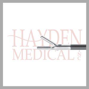 HE13-1349 Laparoscopic Needleholder 5mm, S/A TC insert 10mm long jaws