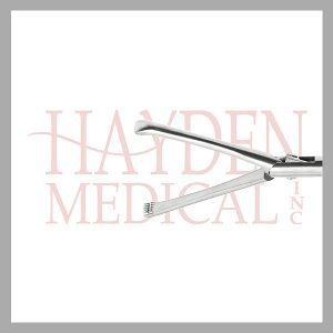 HE13-1520 Laparoscopic DeBakey Grasper 10mm, D/A 40mm long jaws