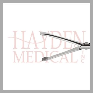 HE13-1530 Allis Laparoscopic Grasper 10mm, D/A tungsten carbide diamond serrated 43mm long jaws