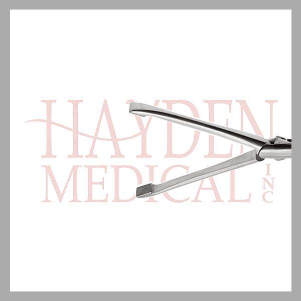 HE13-1530 Allis Laparoscopic Grasper 10mm, D/A tungsten carbide diamond serrated 43mm long jaws