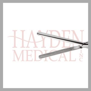 HE13-1550 Kocher Laparoscopic Grasper 10mm, D/A 40mm long axial serrated jaws