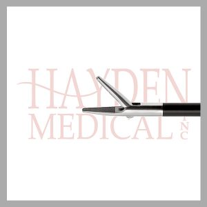 HE13-1590 Laparoscopic Needle Holder 5mm, S/A 10mm pointed jaw length