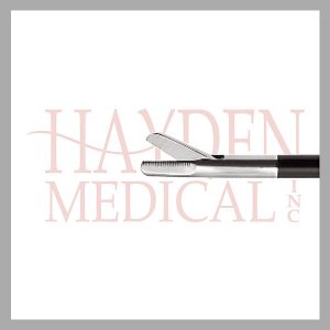 HE13-1650 Laparoscopic Peritoneal Scissors S/A 10mm long straight blades with blunt tips