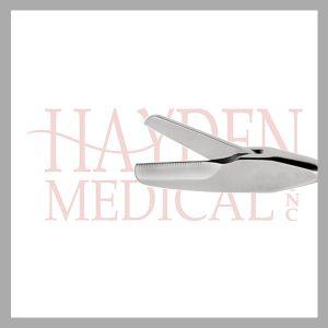 HE13-1655 Laparoscopic Metzenbaum Scissors 10mm, S/A 22mm long straight blades
