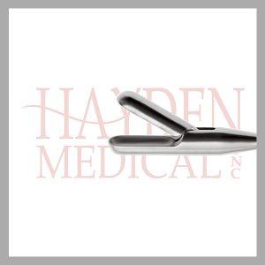 HE13-1660 Laparoscopic Spoon Biopsy Forceps 10mm, S/A 25mm long jaws