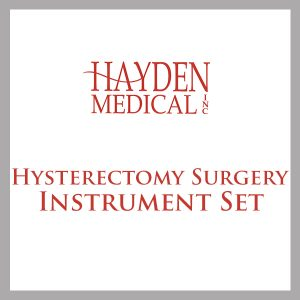 Hysterectomy surgical set
