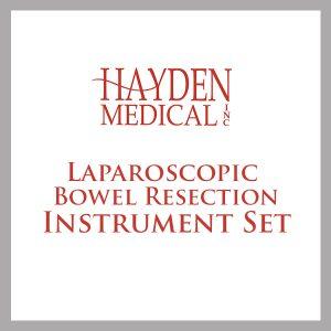 Laparoscopic Bowel Resection Instrument Set