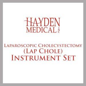 Laparoscopic Cholecystectomy Instrument Set (Lap Chole)