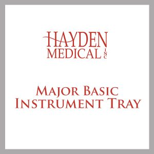 Major Basic instrument tray