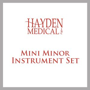 Mini Minor Surgery set
