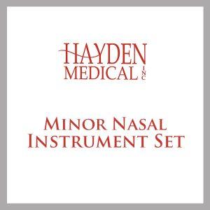 Minor Nasal Surgery set