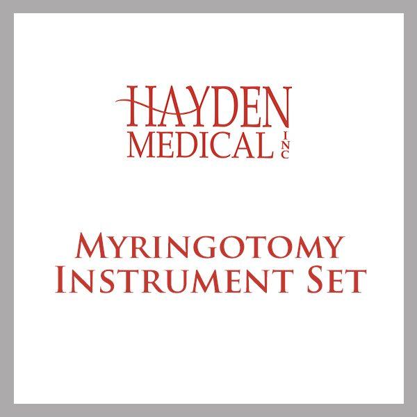 Myringotomy Surgery set