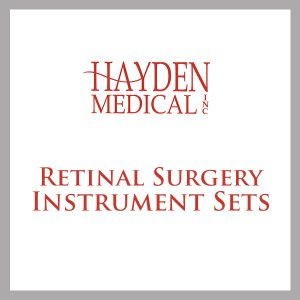 Retinal Surgery Instrument Set