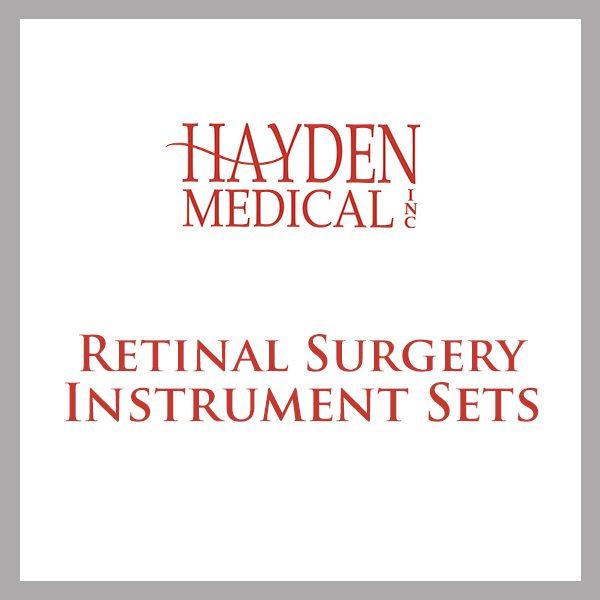 Retinal Surgery Instrument Set