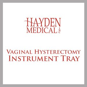 Vaginal Hysterectomy Instrument Tray