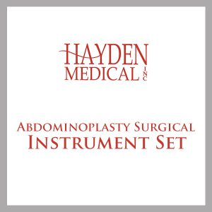 Abdominoplasty Surgical Instrument Set