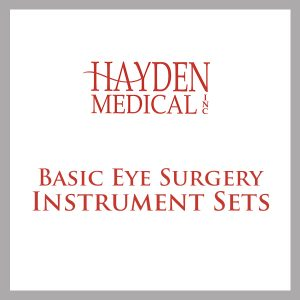 Basic Eye Surgery Instrument s