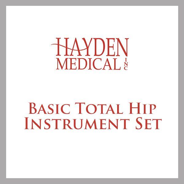 Basic Total Hip Instrument Set