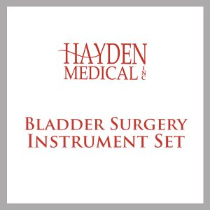 Bladder Surgery Instrument Set