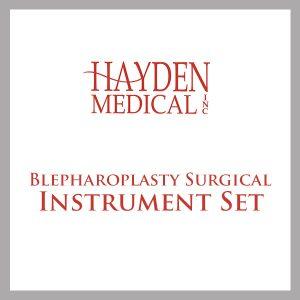 Blepharoplasty Surgical Instrument Set