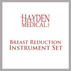 Breast Reduction Surgical Instrument Set