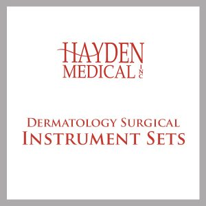 Dermatology Surgical Instrument Sets