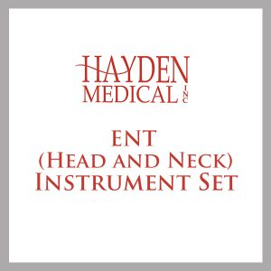 ENT (Head and Neck) Surgical Instrument Sets
