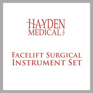 Facelift Surgical Instrument Set