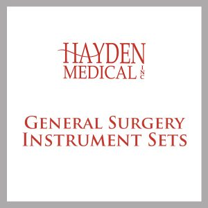 General Surgery Surgical Instrument Sets