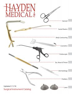 Hayden Medical Plastic Surgery Catalog