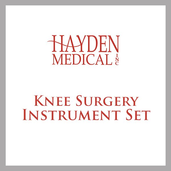 Knee Surgery Instrument Set