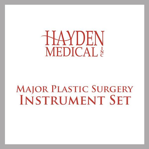 Major Plastic Surgery Instrument Set