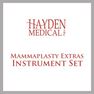 Mammaplasty Extras Surgical Instrument Set
