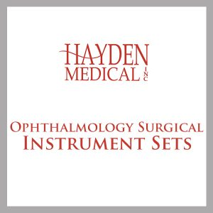 Ophthalmology Surgical Instrument Sets