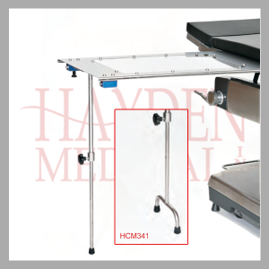 Under Pad Mount Arm and Hand Tables HCM340